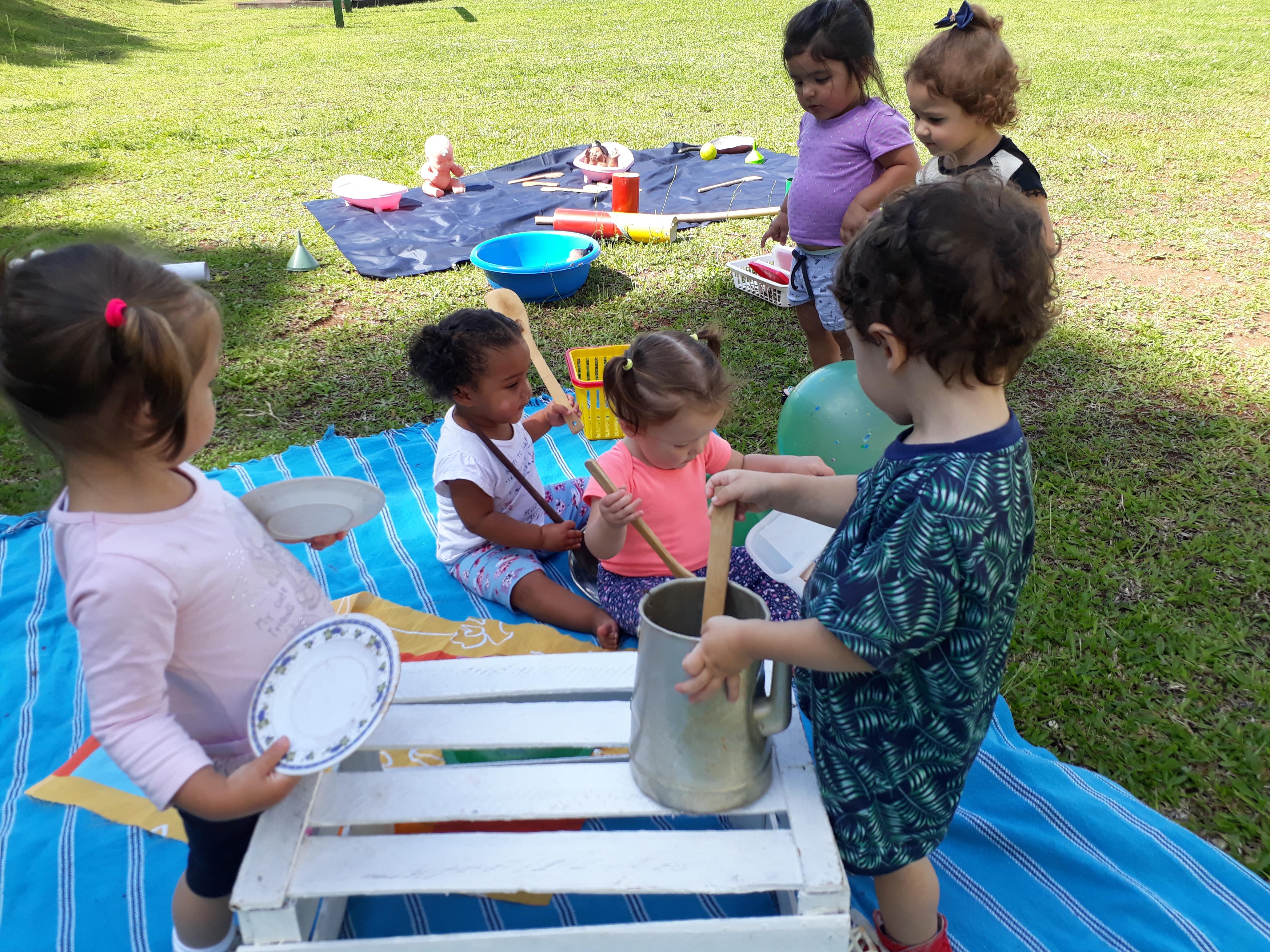 """Criar e brincar na Educação Infantil"""""""