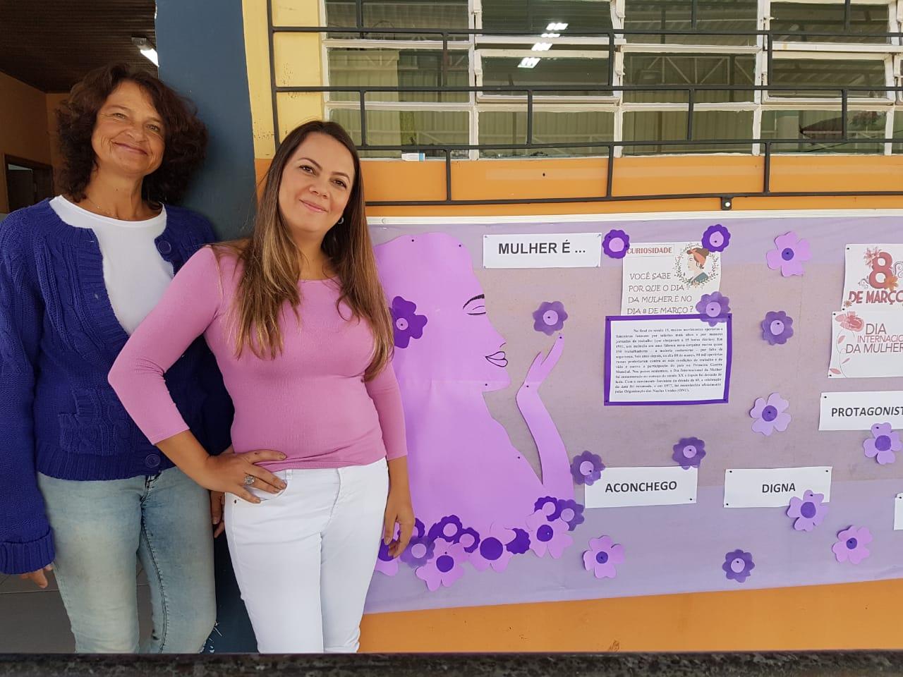 Mês lilás para conscientizar ações no combate a violência contra a mulher