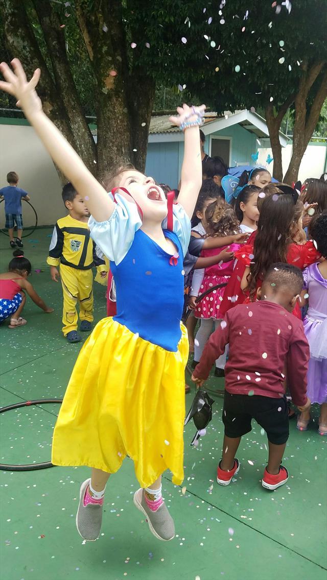 Festa a Fantasia Infantil, realizada no dia 21.fev
