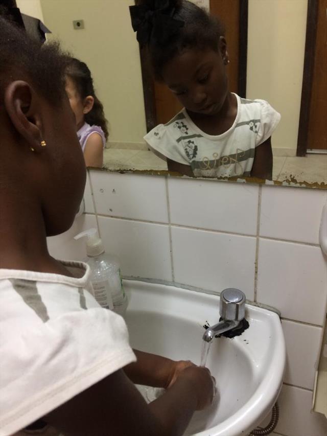 prevenção lavagem de maos