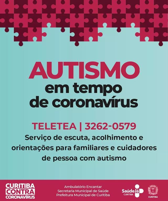Informação importante para as famílias de crianças com autismo