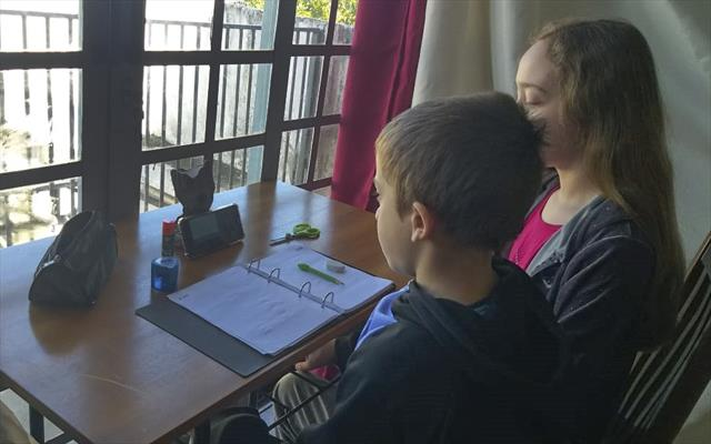 Estudantes e famílias aprovam videoaulas na TV e n