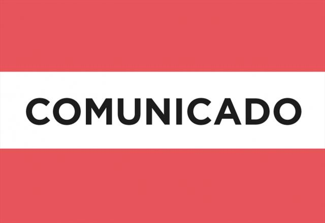 Comunicado 1