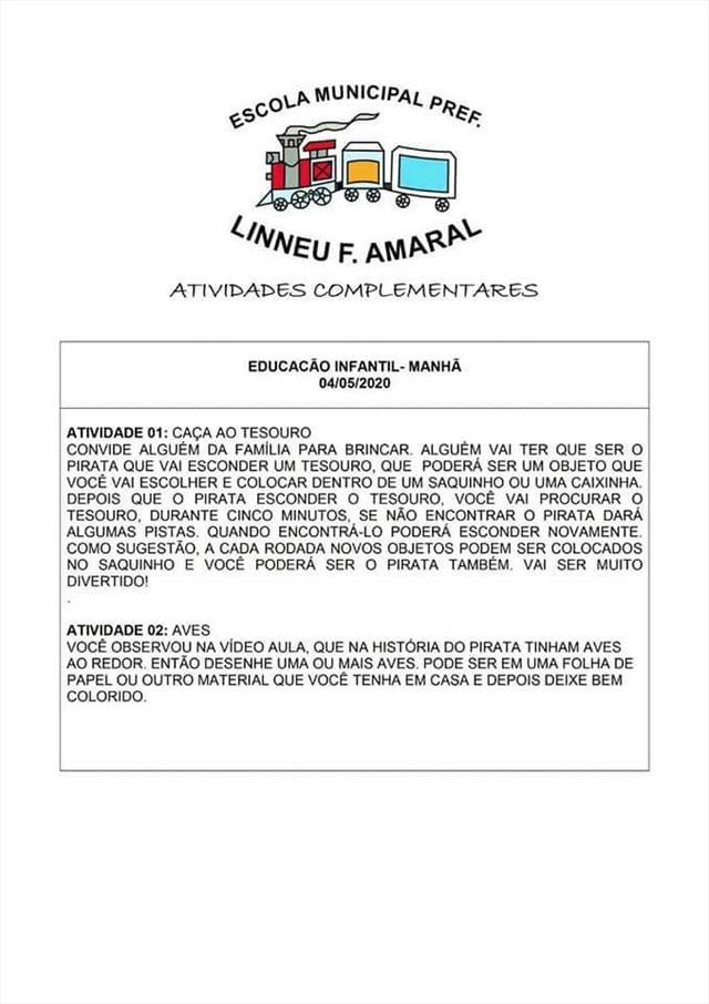 ATIVIDADES COMPLEMENTARES 2
