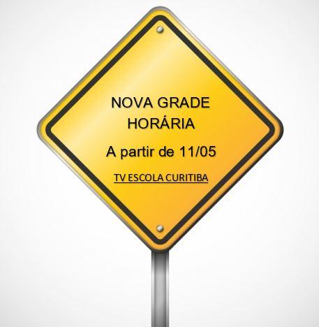 Nova Grade Horária 11/05