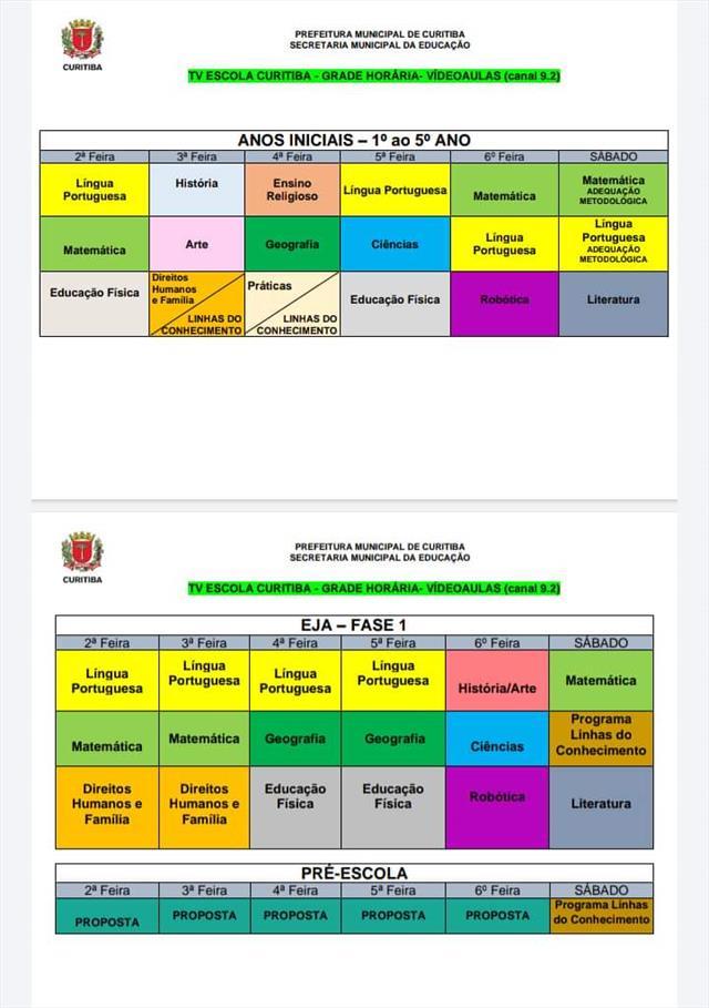 Orientações em relação à entrega de atividades e kit alimentação no dia 14/05