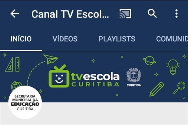 Canal TV Escola Curitiba