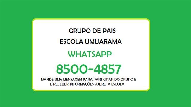 Whatsapp Escola