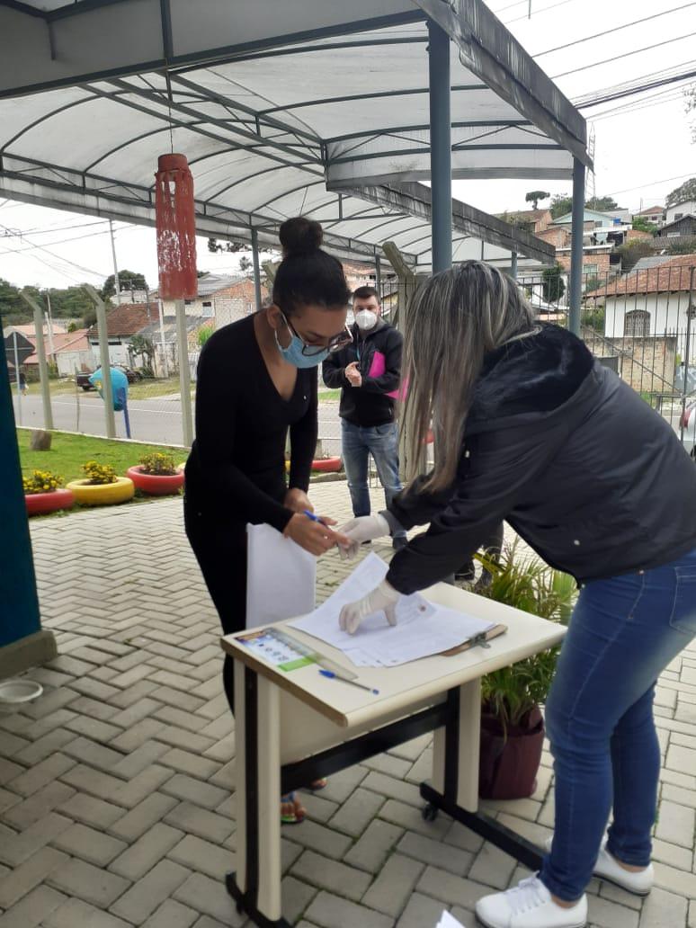 ENTREGA DE KITS ALIMENTAÇÃO NO NRESF