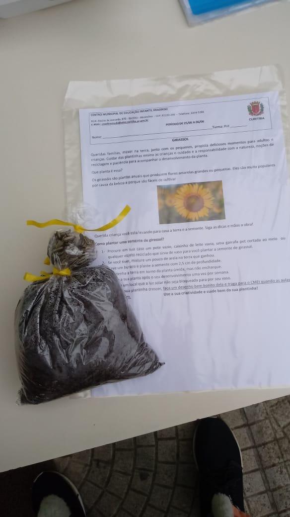Kit Pedagógico - Regional Boa Vista