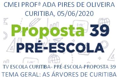 TV ESCOLA CURITIBA- PROPOSTA 39