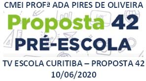 TV ESCOLA CURITIBA - PROPOSTA 42