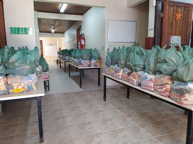 Kit de alimentação - segunda entrega