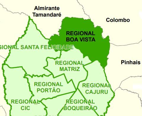 NRE Boa Vista - Unidades Educacionais