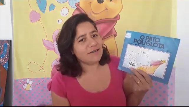 """História """"O Pato Poliglota"""""""