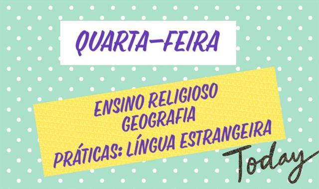 PROGRAMAÇÃO TV ESCOLA CURITIBA - QUARTA-FEIRA - 20/10/2021