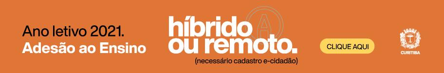 Ano Letivo - Adesão ao Ensino Híbrido ou Remoto