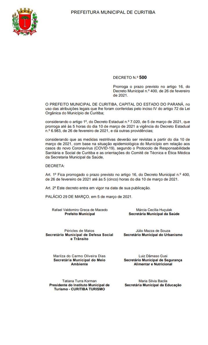 DECRETO Nº500/2021