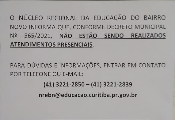 NRE Bairro Novo