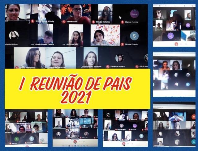 I REUNIÃO DE PAIS 2021