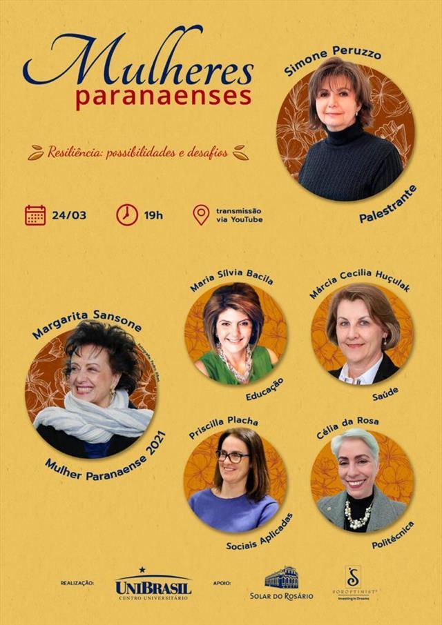 PALESTRA - MULHERES PARANAENSES