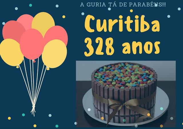 328 anos Curitiba