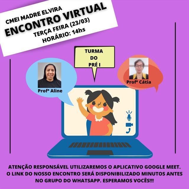 Encontro Virtual Pré I