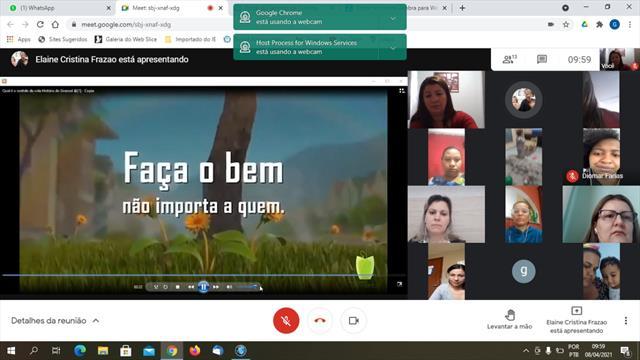 Reunião de Pais CMEI Parigot de Souza - CMEIBN9