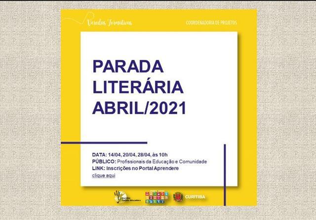 PARADA LITERÁRIA - ABRIL 2021