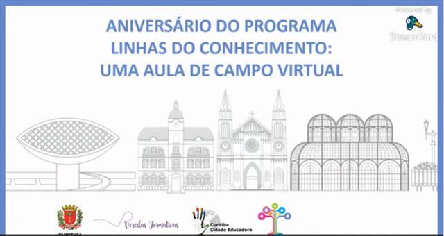ANIVERSÁRIO DO PROGRAMA LINHAS DO CONHECIMNTO