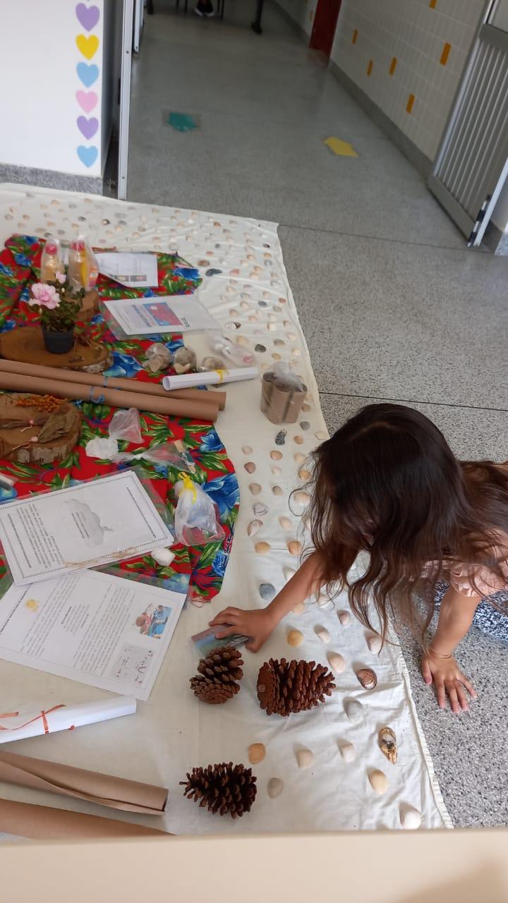 Entrega de kits alimentares e propostas pedagógicas