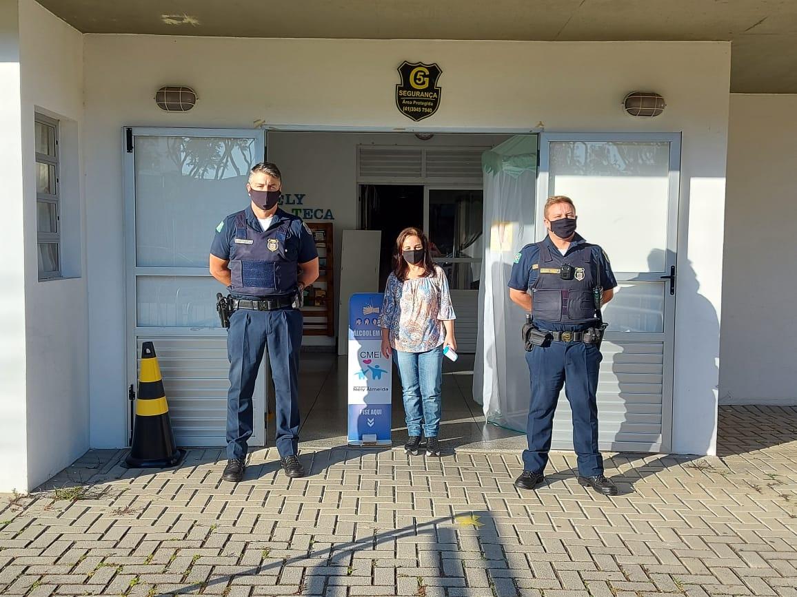 Presença da guarda municipal