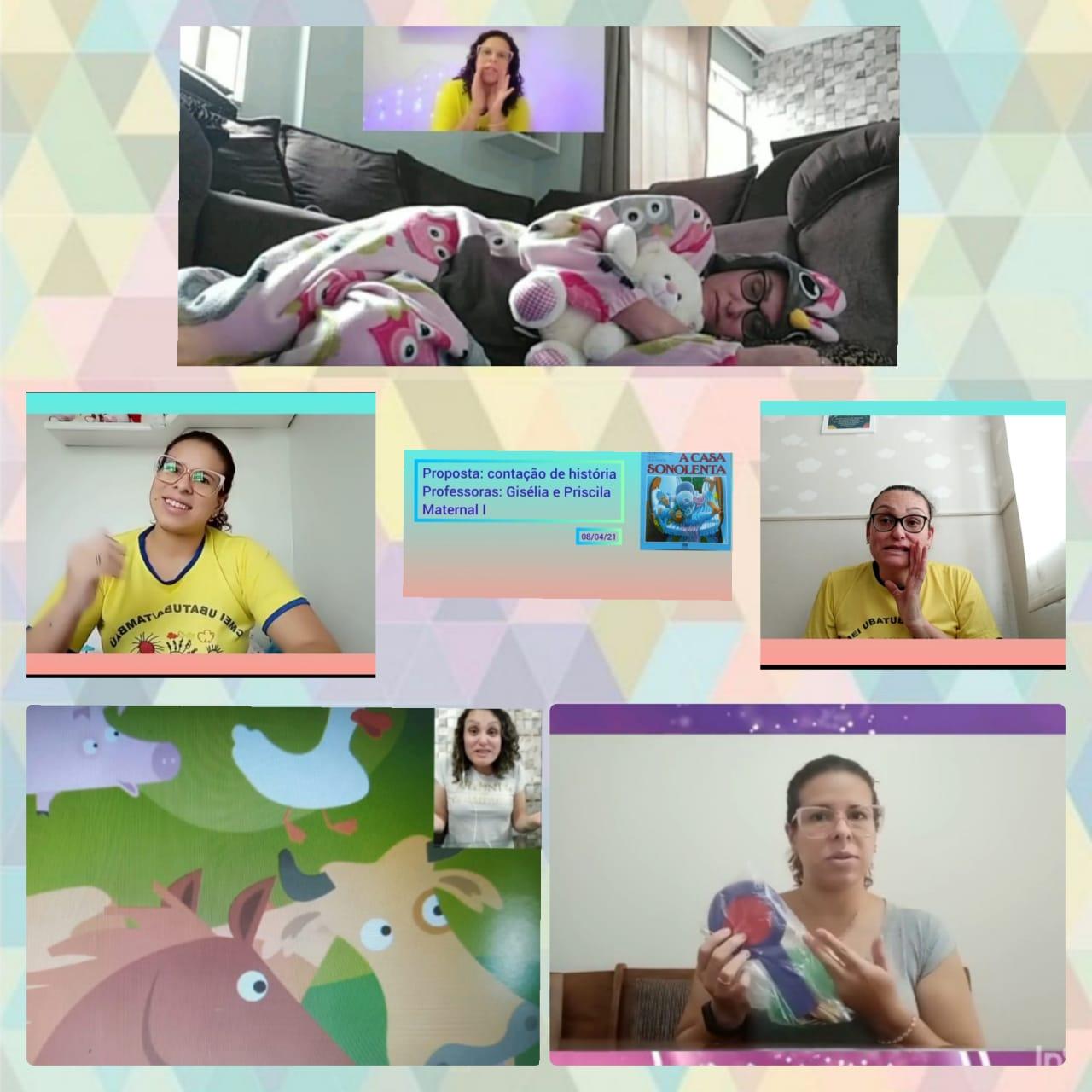 Gravação dos Vídeos