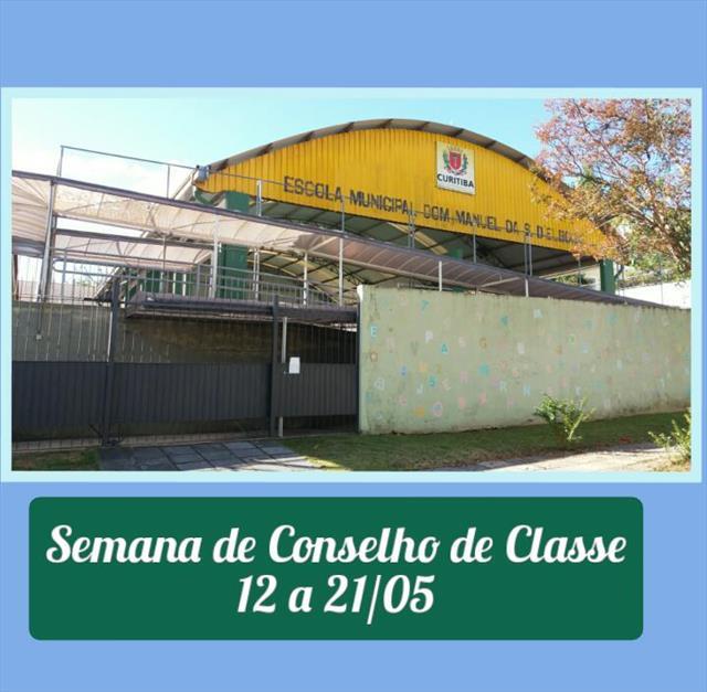 SEMANA DE CONSELHO DE CLASSE