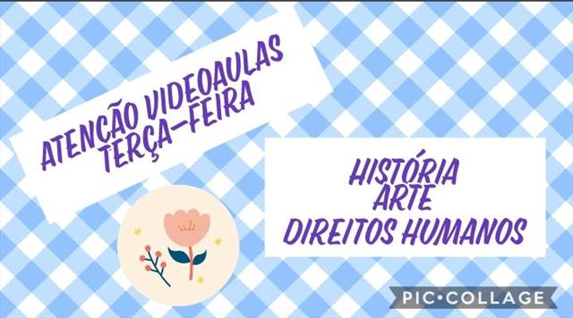 VIDEOAULAS - TERÇA-FEIRA
