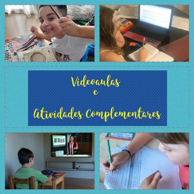 VIDEOAULAS E ATIVIDADES COMPLEMENTARES
