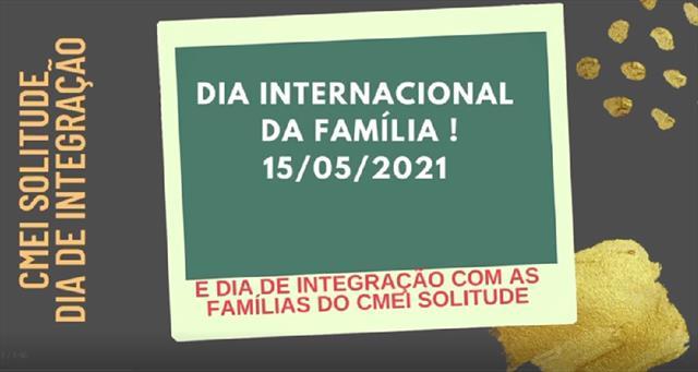 Integração com as Famílias