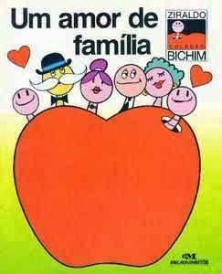 Livro Um amor de família que foi contado para as c