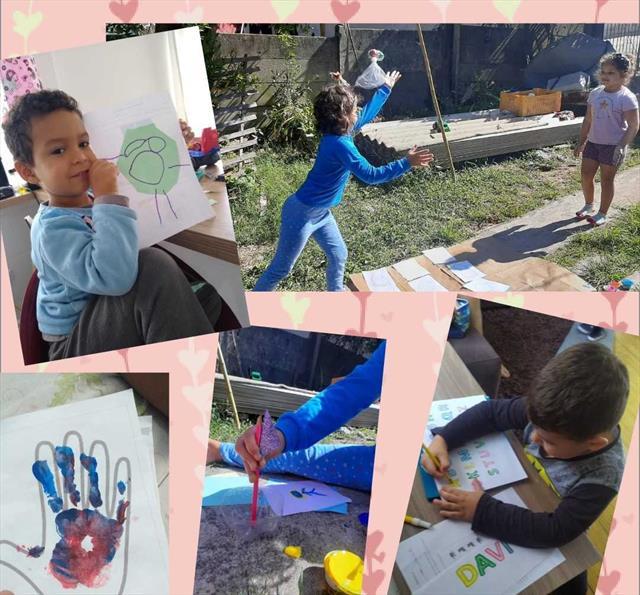 Entrega dos Kits Pedagógicos