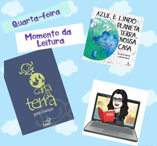 MOMENTO DA LEITURA  - QUARTA -FEIRA
