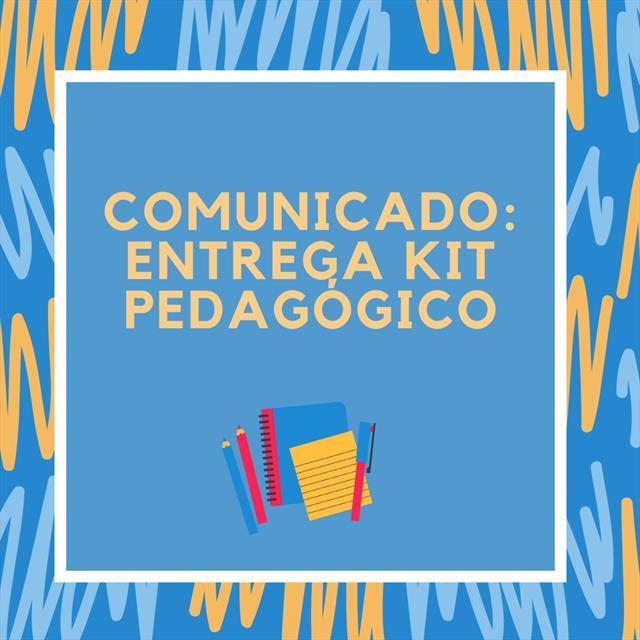 Entrega Kit Pedagógico
