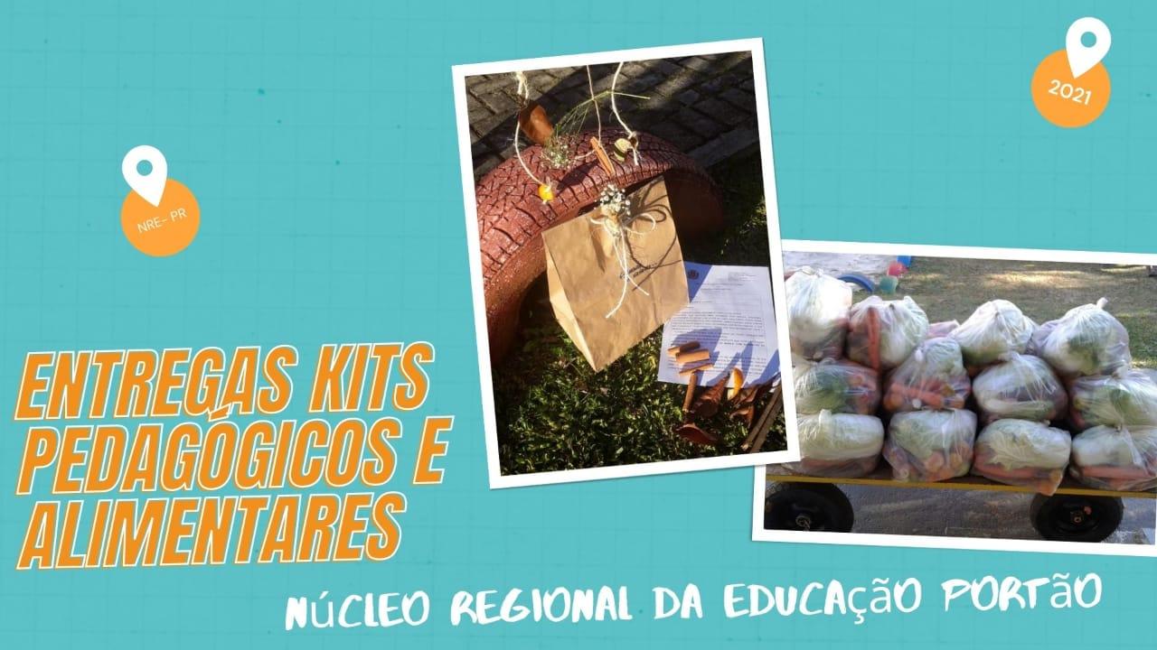 ENTREGA DE KITS PEDAGÓGICO MÊS DE JULHO