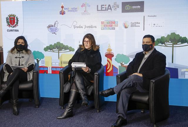 Abertura da Expo Educação. Curitiba, 01/07/2021. F