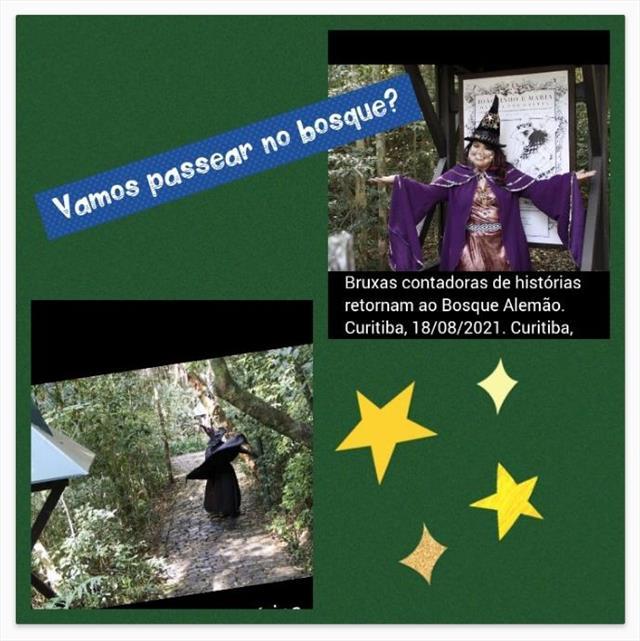 Bruxas contadoras de histórias retornam ao Bosque