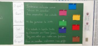 Desafios Línguísticos do 5.° ano da Escola Municipal Foz do Iguaçu