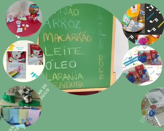 Kit suplementar de alimentação e Kit Pedagógico