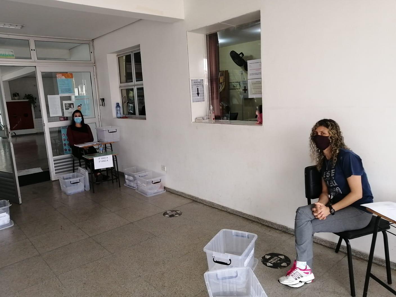 Imagens da entrega de kits