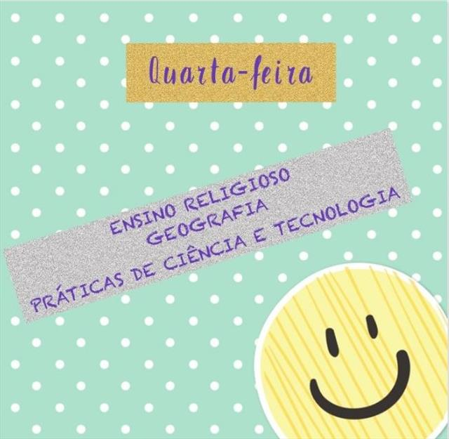 VIDEOAULAS - QUARTA-FEIRA