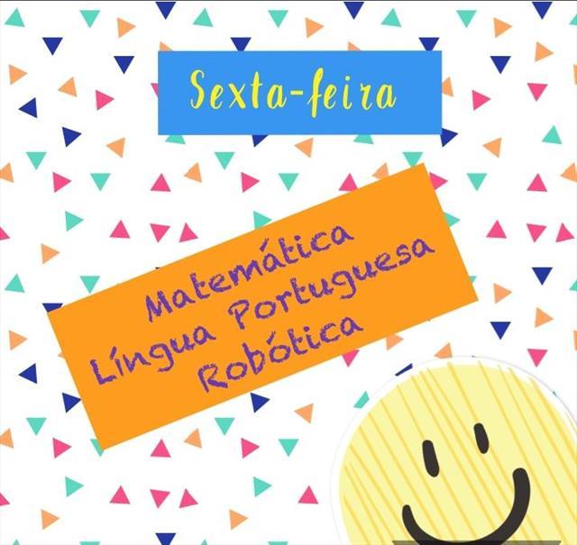 VIDEOAULAS - SEXTA-FEIRA