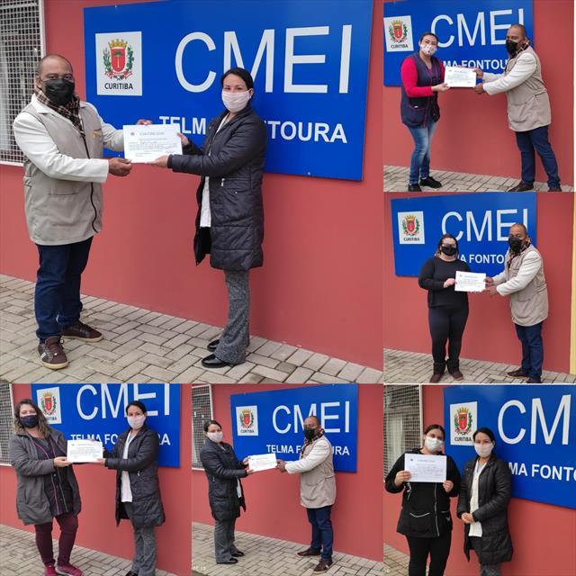 Posse da eleição do Conselho de CMEI chapa única -